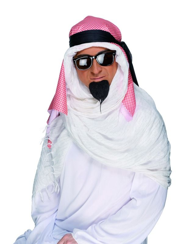 Knírek Arab nalepovací (58) Smiffys.com
