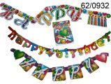 Gerlanda - Happy Birthday - 1,6m (17,124)