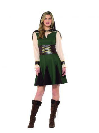 Kostým - Robin Hood - žena - M Smiffys.com 3745ad0a001