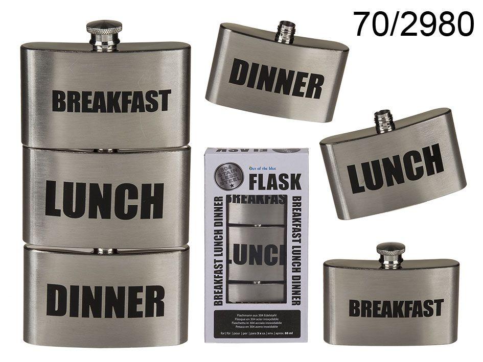 Placatka - snídaně, oběd, večeře: 3x 88ml (70-H) ootb.de