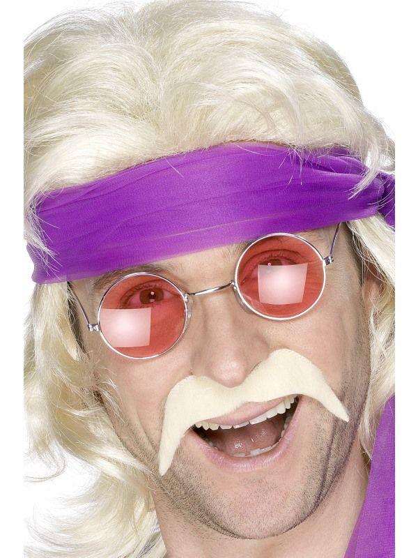 Knírek nalepovací - blond (58) Smiffys.com