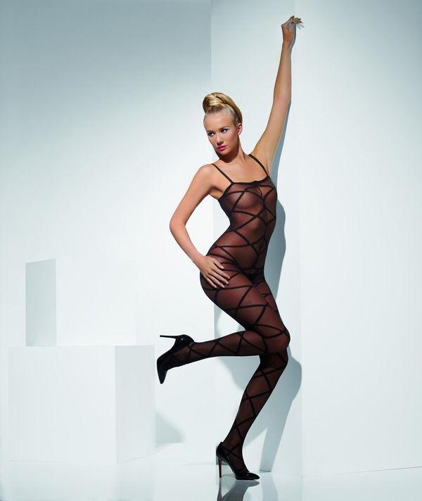 Body krajkové černé (33) Smiffys.com