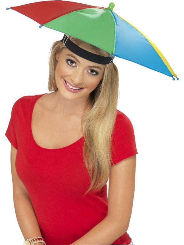 Deštník na hlavu - (10-E) Smiffys.com