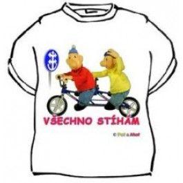 Tričko - Pat a Mat všechno stíhám.. - XXL Divja.cz