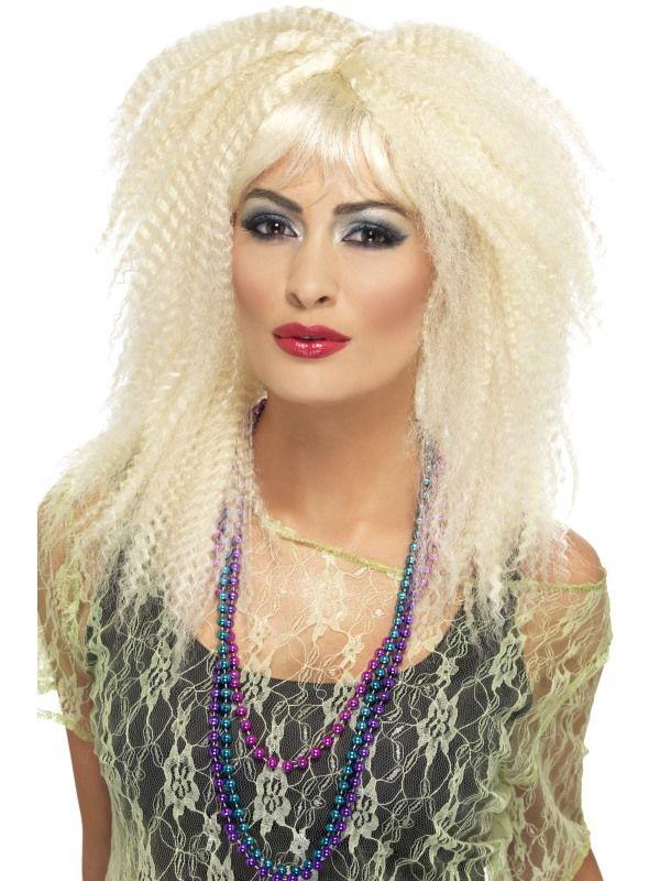 Paruka Crimo blond 80 léta (4-B) Smiffys.com