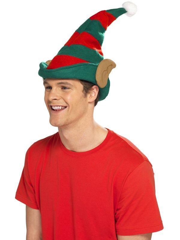 Čepice Elf s ušima (123) Smiffys.com