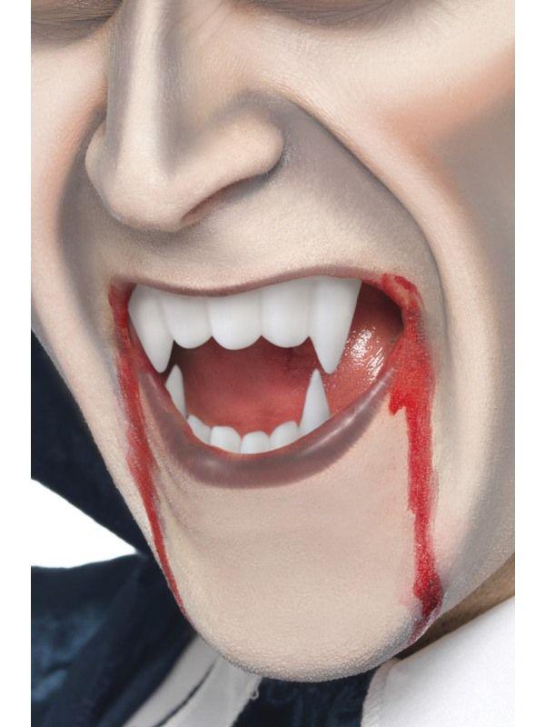 Krev divadelní + zuby upíří (15-E) smiffys.com