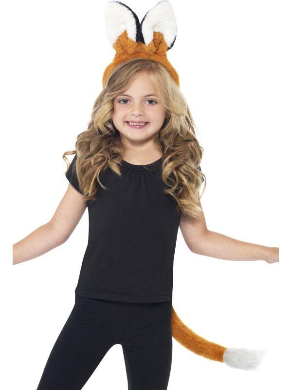 Sada liška ocas + ouška (10-C) Smiffys.com