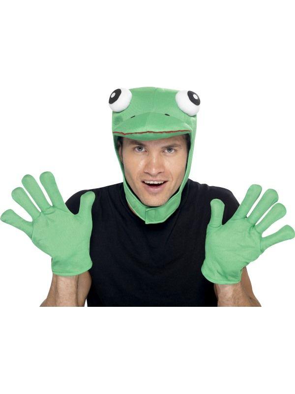 Maska žabák + rukavice (11-E) Smiffys.com