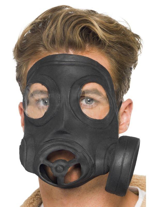 Maska plynová (63) Smiffys.com