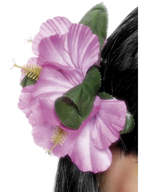 Kytka na sponce havaj růžová (24-I) Smiffys.com