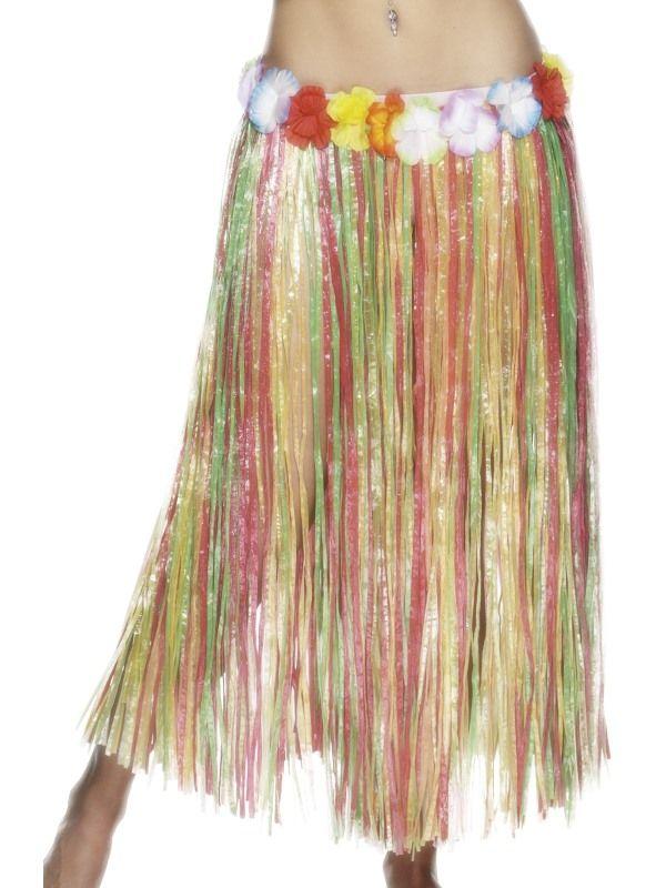Sukně havaj barevná (18) Smiffys.com