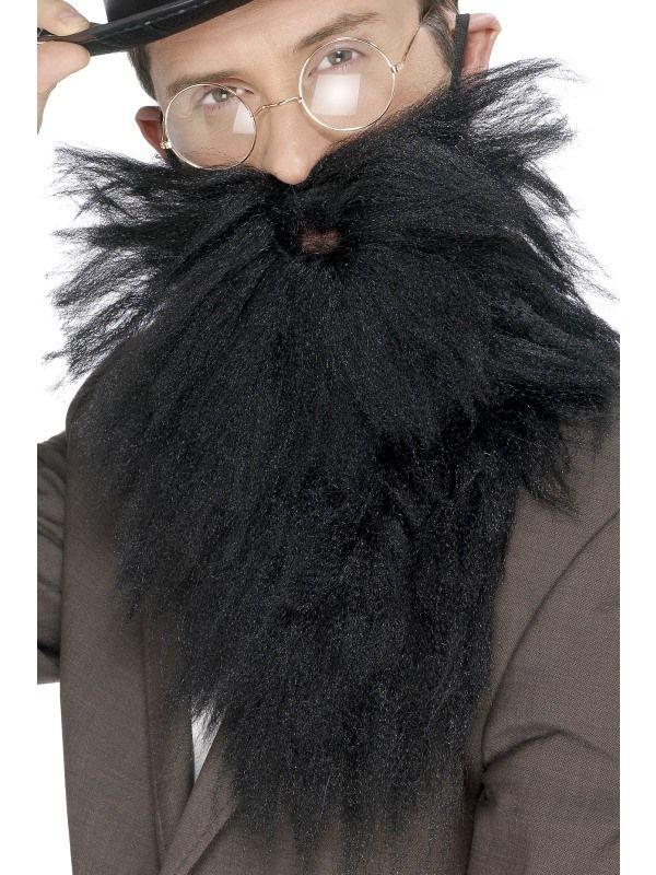 Vousy dlouhé černé Smiffys.com