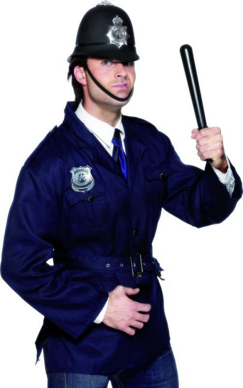 Odznak policie kovový (79-G) Smiffys.com