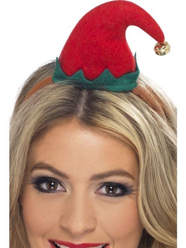 Čepice - Elf - mini (123) Smiffys.com