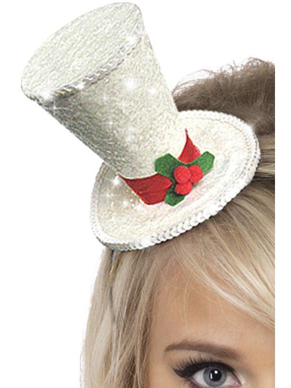 Klobouk - Mini - vánoční (54) Smiffys.com