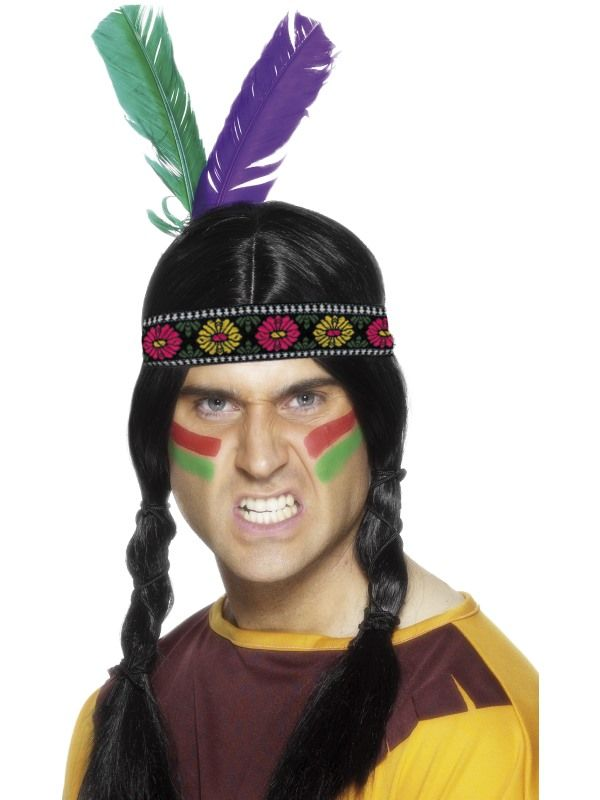 Čelenka indián 2péra (62) Smiffys.com