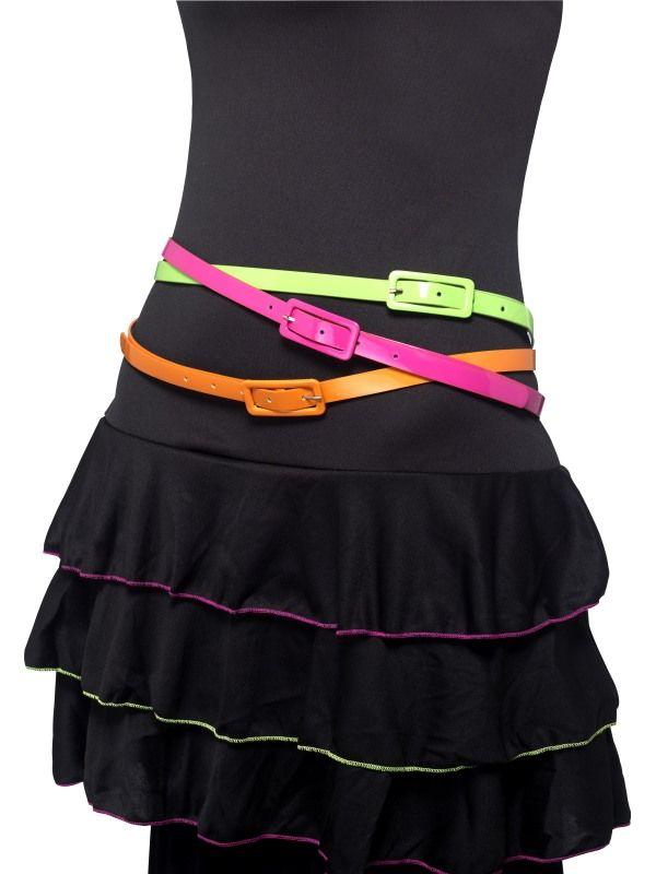 Pásek - neon 3ks (92) Smiffys.com