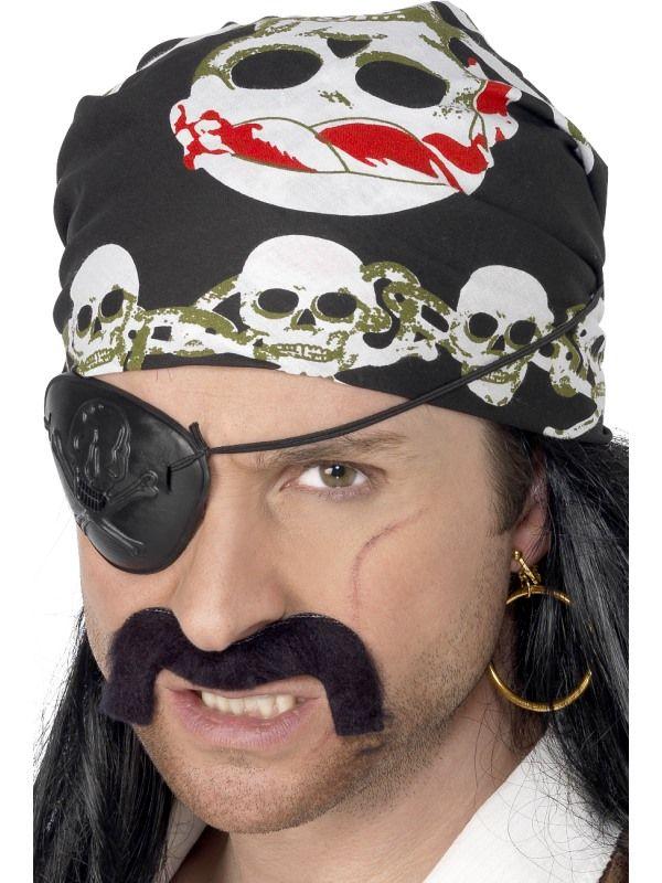 Šátek pirát barevný - (78-E) Smiffys.com