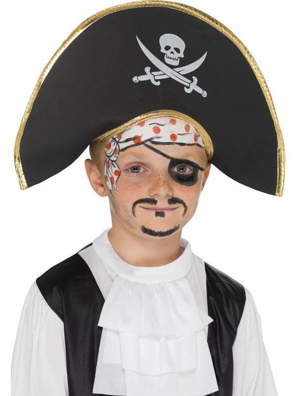 Klobouk pirát kapitán dětský (113-E) Smiffys.com