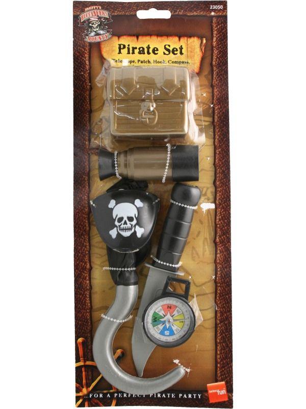 Sada pirát - (65, 124) Smiffys.com