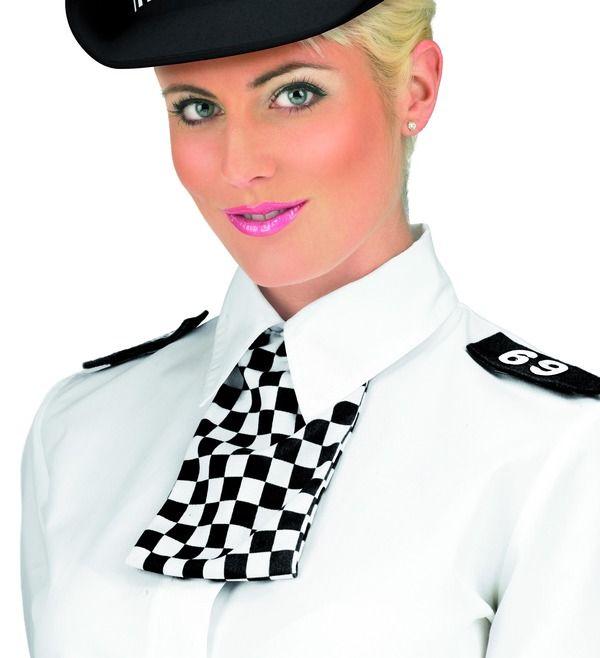 Sada policajtka límec, šátek, nárameníky (53) Smiffys.com