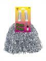 POM POM stříbrný pár (55,124) Smiffys.com