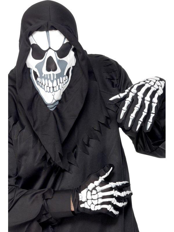 Maska kostlivec + rukavice (63) Smiffys.com