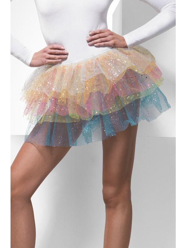 Spodnička , sukně, barevná (55) Smiffys.com
