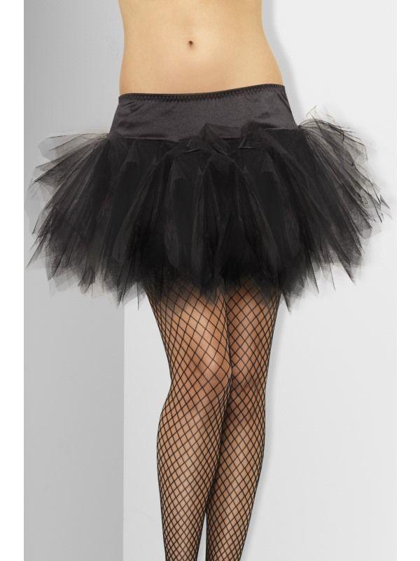 Spodnička černá (55) Smiffys.com