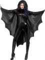 Plášť - netopýr upír černý  ( 84-D)