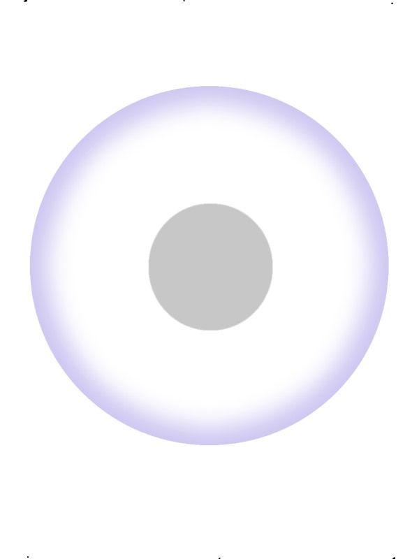 Oční čočky do očí UV bílé, 1 denní (74D) Smiffys.com
