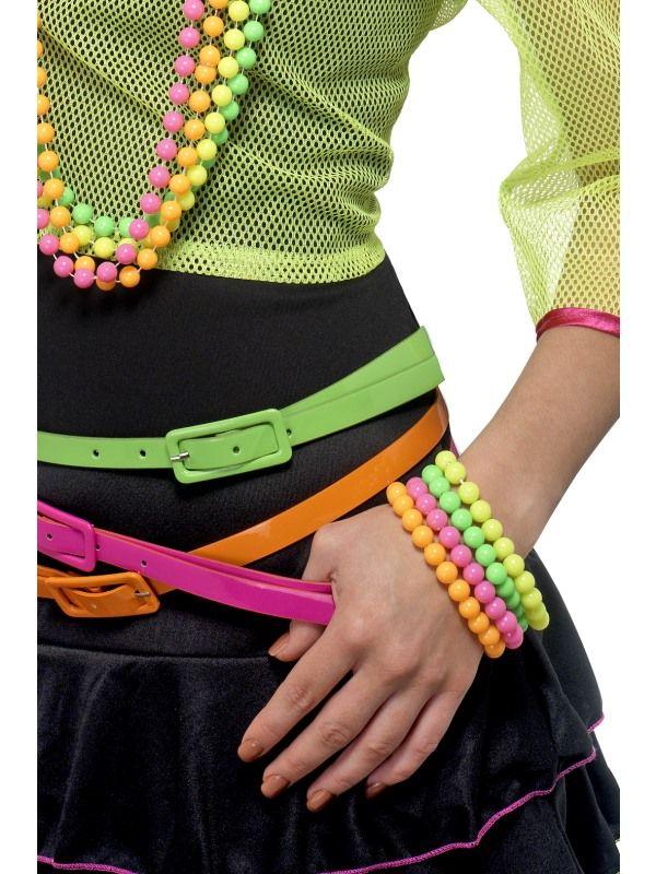 Náramek - neon 4ks (92) Smiffys.com