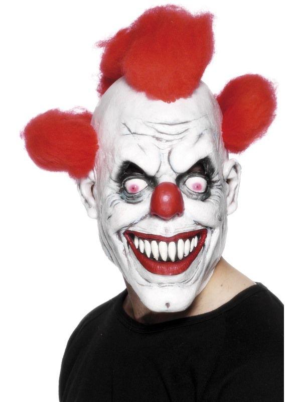 Maska klaun- červený (68) Smiffys.com