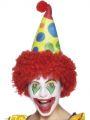 Čepice klaun s vlasy (11-C)