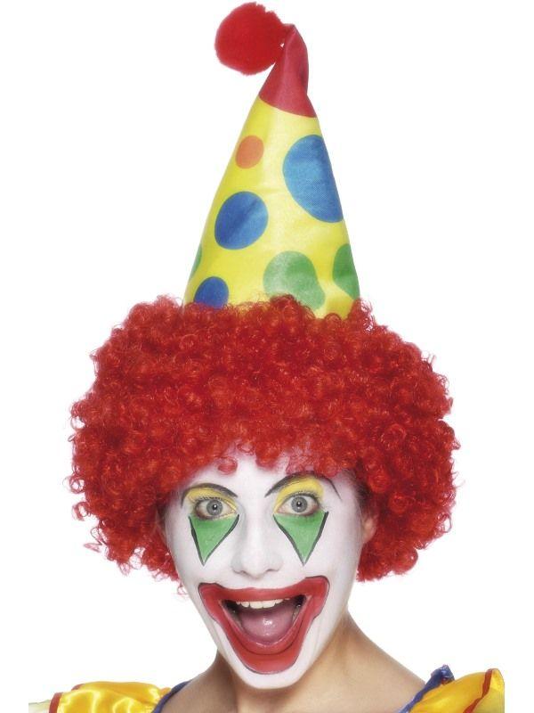 Čepice klaun s vlasy (112-G) Smiffys.com