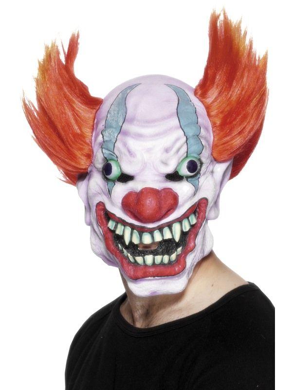 Maska - Klaun oranžový (68) Smiffys.com