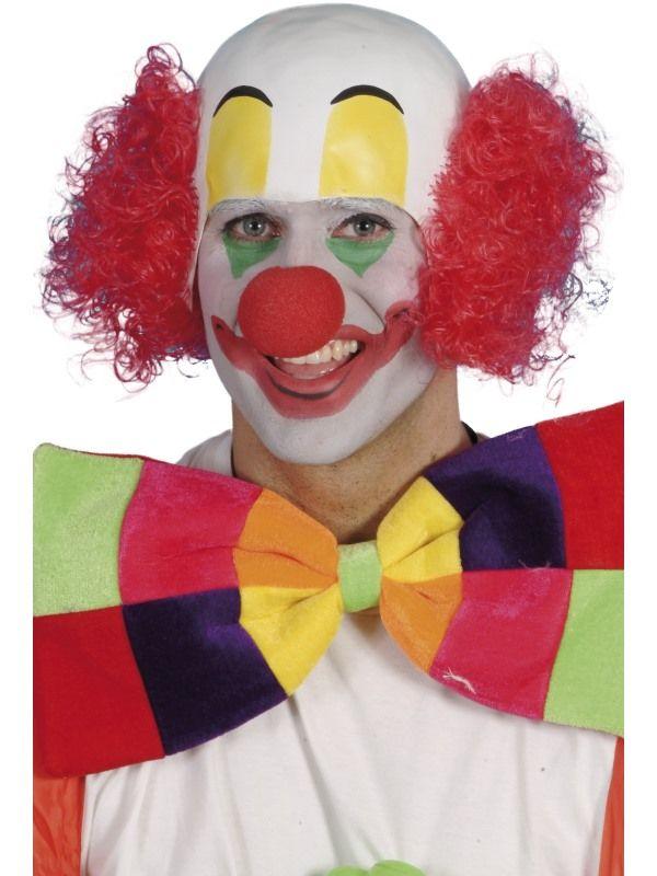 Maska - Klaun s pleší (90) Smiffys.com