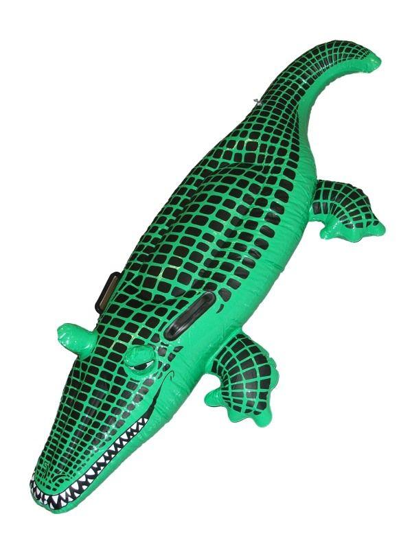 Krokodýl nafukovací 140 cm (25-A) Smiffys.com