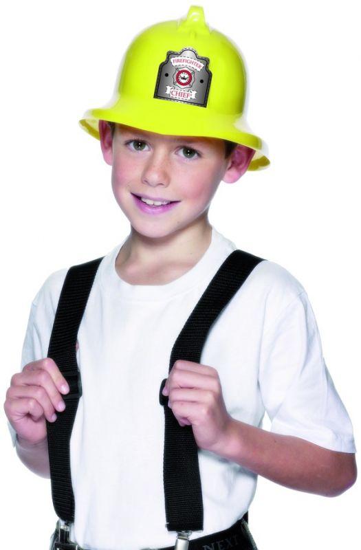 Helma hasič plast dětská (9-C) Smiffys.com