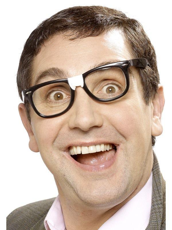 Brýle černé plast - pro šetřílky (48B) Smiffys.com