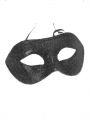Škraboška černá glitter (16-H)