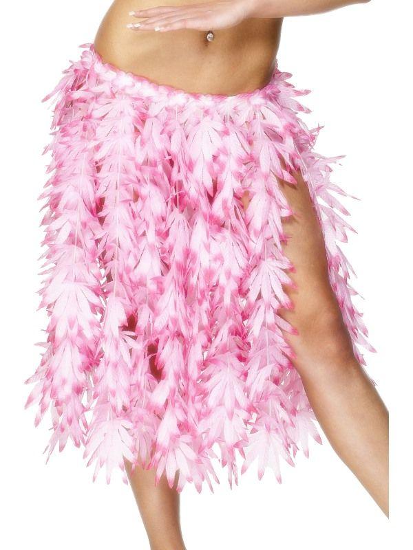 Sukně havaj růžová (18) Smiffys.com