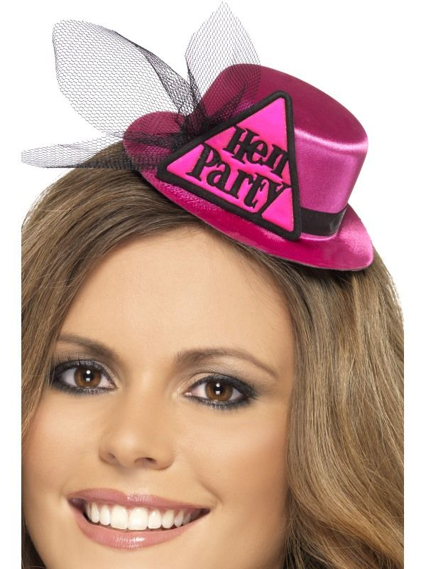 Klobouček na rozlučku- mini, Hen Party.. (22-J) Smiffys.com