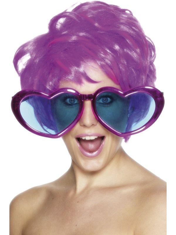 Brýle - srdce obří (48A) Smiffys.com
