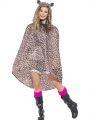 Pláštěnka - Leopard - poncho