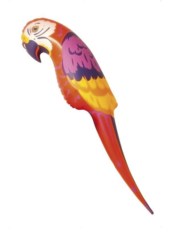 Papoušek nafukovací 116 cm (25-G) Smiffys.com