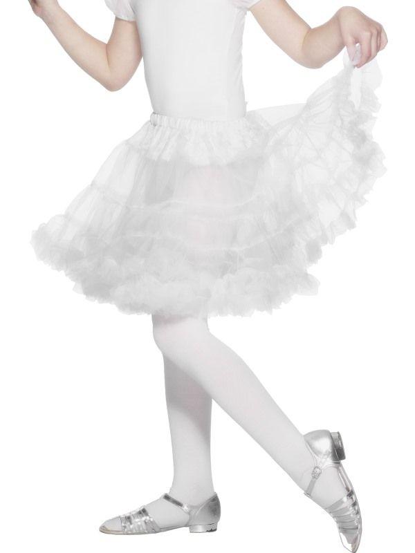 Spodnička bílá dětská (55) Smiffys.com