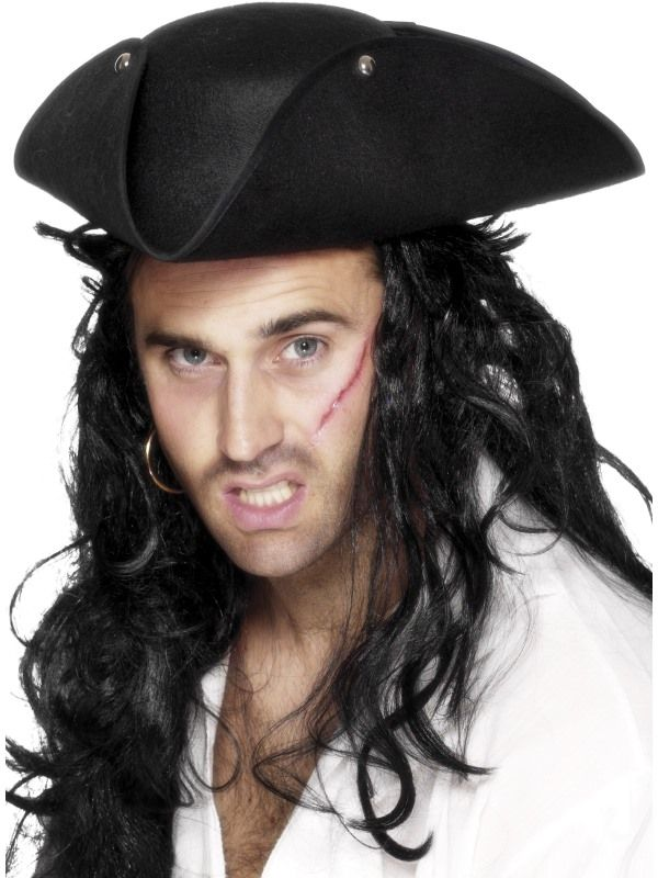Klobouk pirát trojcípý (113-C) Smiffys.com