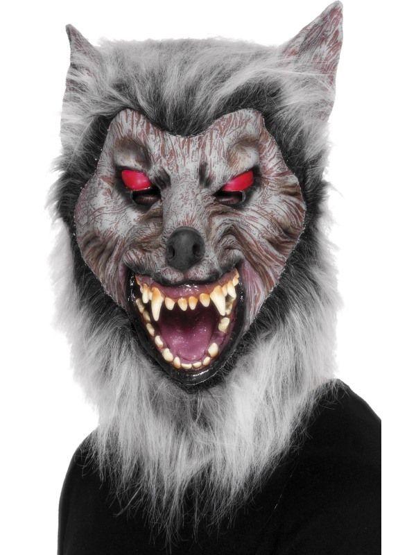 Maska vlkodlak (64) Smiffys.com
